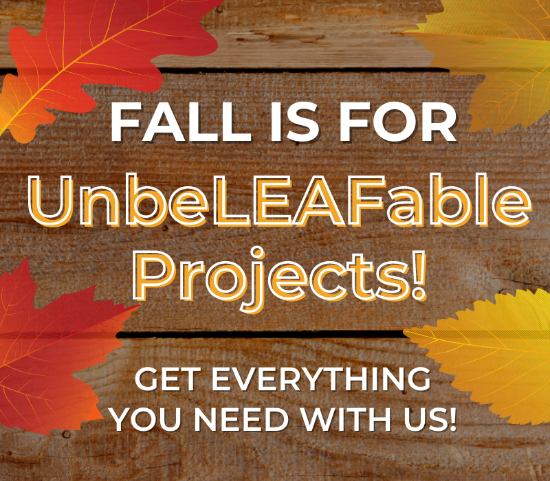 Fall Is For UnbeLEAFable Projects! 🍂